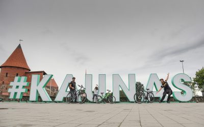 Cycling in Kaunas