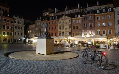 Μία ποδηλατάδα στη Βαρσοβία