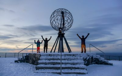 Media Release: made it to Nordkapp
