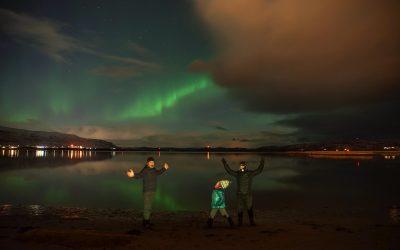 Northern lights hunters