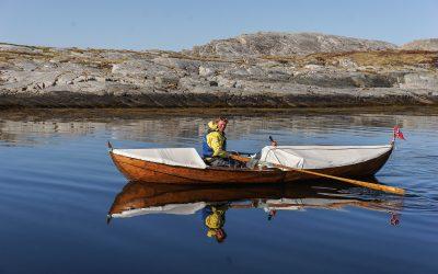 Ο Άρνε που κωπηλατεί όλη τη Νορβηγία